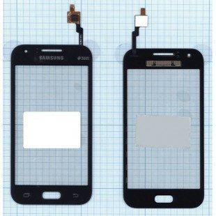 Сенсорное стекло (тачскрин) Samsung Galaxy J1 SM-J100 черное