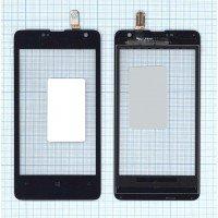 Сенсорное стекло (тачскрин) Microsoft Lumia 430 Dual Sim черный