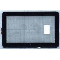 Сенсорное стекло (тачскрин) HP Pavilion 11 X360 черный с рамкой