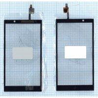 Сенсорное стекло (тачскрин) HP Slate 6 VoiceTab черный