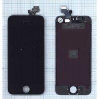 Модуль (матрица + тачскрин) Apple iPhone 5/5g черный [6354]