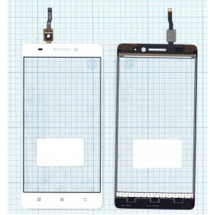 Сенсорное стекло (тачскрин) Lenovo A7000 белое