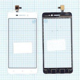 Сенсорное стекло (тачскрин) Lenovo S60 белое