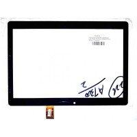 Сенсорное стекло (тачскрин) для 4Good Light AT300 (XC-PG1010-084-FPC-A0), черное [T0145-2]
