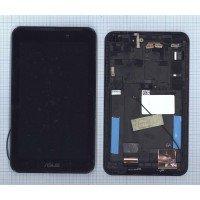 Модуль (матрица + тачскрин) Asus FonePad 7 FE170CG черный с рамкой [T0812]