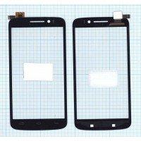 Сенсорное стекло (тачскрин) Prestigio MultiPhone 7600 DUO черный