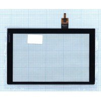 Сенсорное стекло (тачскрин) Lenovo Yoga Tablet 3 YT3-X50 черное [T0211]