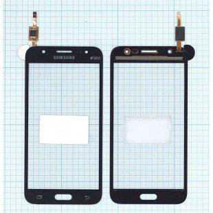 Сенсорное стекло (тачскрин) Samsung Galaxy J5 SM-J500 черное