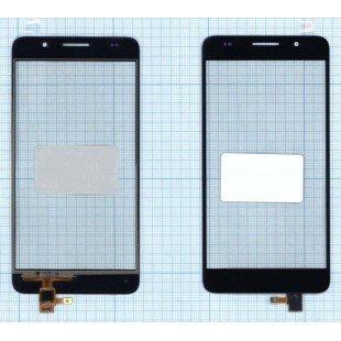 Сенсорное стекло (тачскрин) Huawei Honor 6 черное