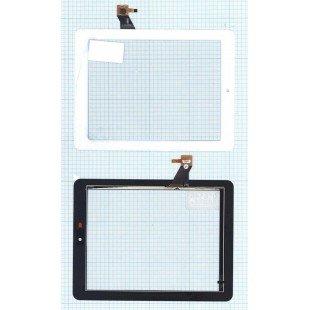Сенсорное стекло (тачскрин) Explay M2 3G / Explay D8.2 3G (080209-01A-V1) белое