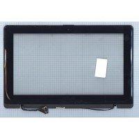 Сенсорное стекло (тачскрин) Asus X200LA черное с рамкой