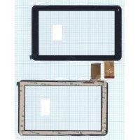 Сенсорное стекло (тачскрин) FPC-FC90S098(D90)-00 черный