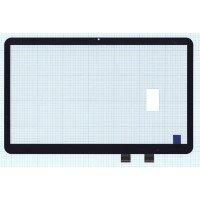 Сенсорное стекло (тачскрин) HP Pavilion 15-D черное