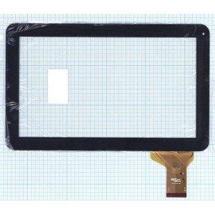 Сенсорное стекло (тачскрин) DPT 300-L3709J-A00 черное