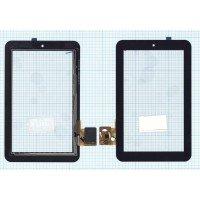 Сенсорное стекло (тачскрин) Prestigio Multipad 7.0 Prime Duo черное
