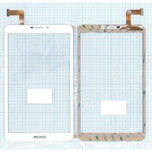 Сенсорное стекло (тачскрин) CN069FPC-V0 (205*120 mm) белое