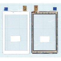Сенсорное стекло (тачскрин) Prestigio MultiPad Color 2 3G PMT3777 (PB70A2616) белое [T0151]