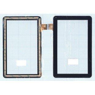 Сенсорное стекло (тачскрин) DPT 300-N48268-A00 (160x258mm) черное