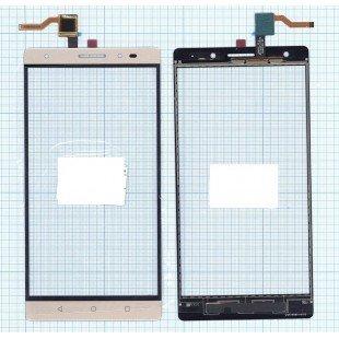 Сенсорное стекло (тачскрин) Lenovo Phab 2 Plus золотое