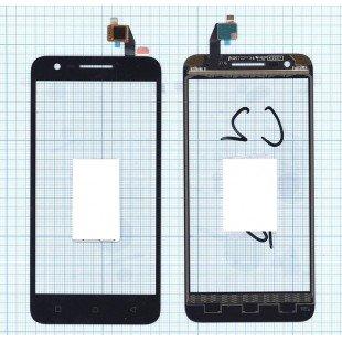 Сенсорное стекло (тачскрин) Lenovo Vibe C2 (K10A40) черное