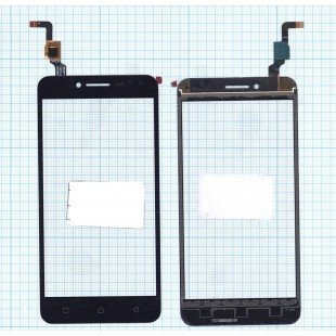 Сенсорное стекло (тачскрин) Lenovo Vibe K5 Plus (A6020A46) черное