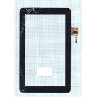 Сенсорное стекло (тачскрин) QSD 702-09017-03 черное