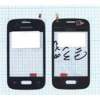 Сенсорное стекло (тачскрин) Samsung Galaxy Pocket 2 SM-G110 черное