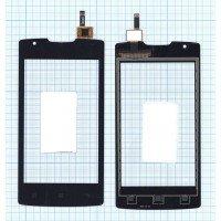 Сенсорное стекло (тачскрин) Lenovo A (A1000) черное
