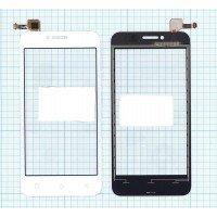 Сенсорное стекло (тачскрин) Lenovo A Plus (A1010) белое
