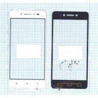 Сенсорное стекло (тачскрин) Lenovo Sisley S90 белое