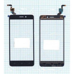 Сенсорное стекло (тачскрин) Lenovo K6 черное