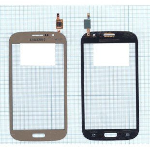 Сенсорное стекло (тачскрин) Samsung Galaxy Grand Neo Duos GT-I9060 золотистое