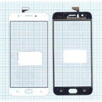 Сенсорное стекло (тачскрин) OPPO A57 белое