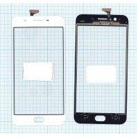 Сенсорное стекло (тачскрин) OPPO A59 белое