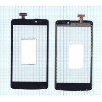 Сенсорное стекло (тачскрин) OPPO Clover R815 черное