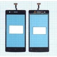 Сенсорное стекло (тачскрин) OPPO Neo 5 черное