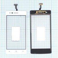Сенсорное стекло (тачскрин) OPPO Neo 5 белое