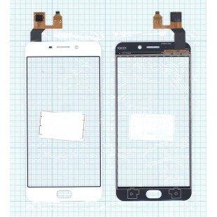 Сенсорное стекло (тачскрин) OPPO R9 белое