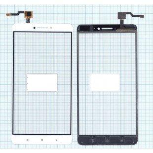 Сенсорное стекло (тачскрин) Xiaomi Mi Max белое