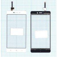 Сенсорное стекло (тачскрин) Xiaomi Redmi 3 белое