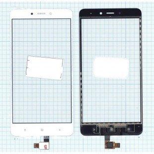 Сенсорное стекло (тачскрин) Xiaomi Redmi Note 4 белое