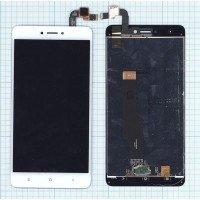 Модуль (матрица + тачскрин) Xiaomi Redmi Note 4X белый [6393]