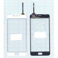 Сенсорное стекло (тачскрин) Meizu M5 Note белое
