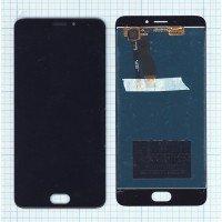 Модуль (матрица + тачскрин) Meizu M5 Note черный [6356]