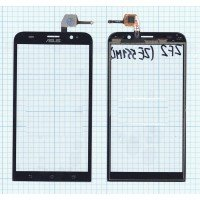 Сенсорное стекло (тачскрин) Asus ZenFone 2 (ZE551ML) черное