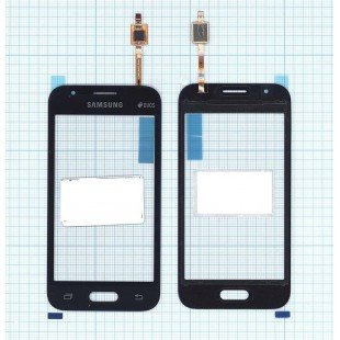 Сенсорное стекло (тачскрин) Samsung Galaxy J1 Mini SM-J105H черное