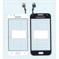 Сенсорное стекло (тачскрин) Samsung Galaxy J1 Ace SM-J110H белое