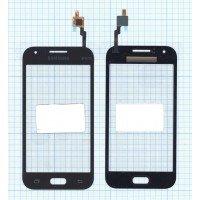 Сенсорное стекло (тачскрин) Samsung Galaxy J1 Ace SM-J110H черное
