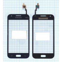Сенсорное стекло (тачскрин) Samsung Galaxy J1 Ace SM-J110H синее