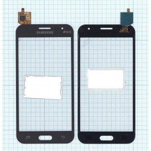 Сенсорное стекло (тачскрин) Samsung Galaxy J2 SM-J200 черное